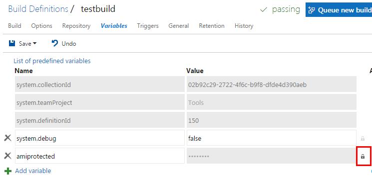 Decrypting TFS secret variables – lowleveldesign org