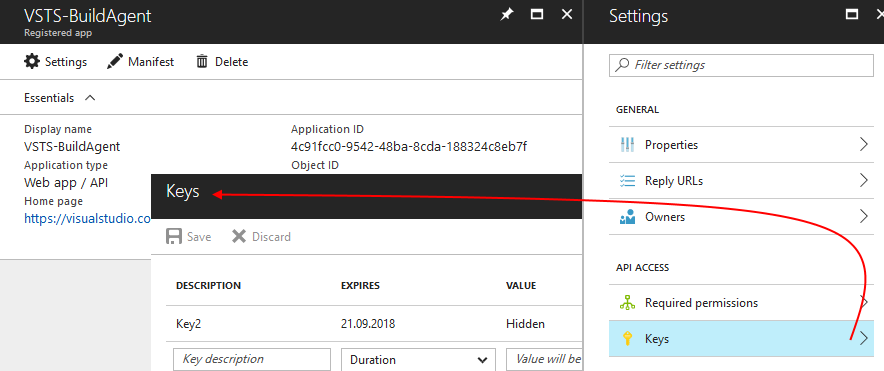 vsts-appregistration